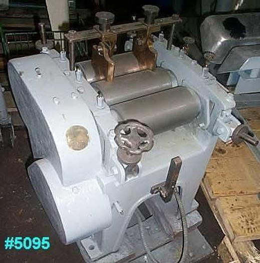 Used 4 in. X 8 in. LABORATORY THREE ROLL MILL