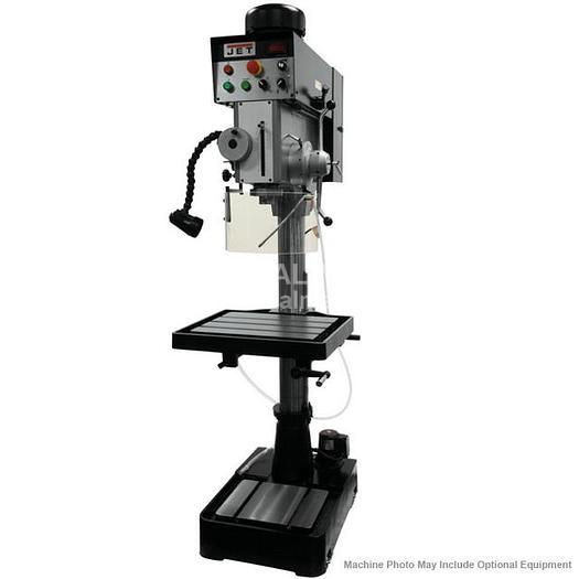 JET JDP20EVST-460-PDF EVS Gear Head Drill Press with Power Downfeed 354246