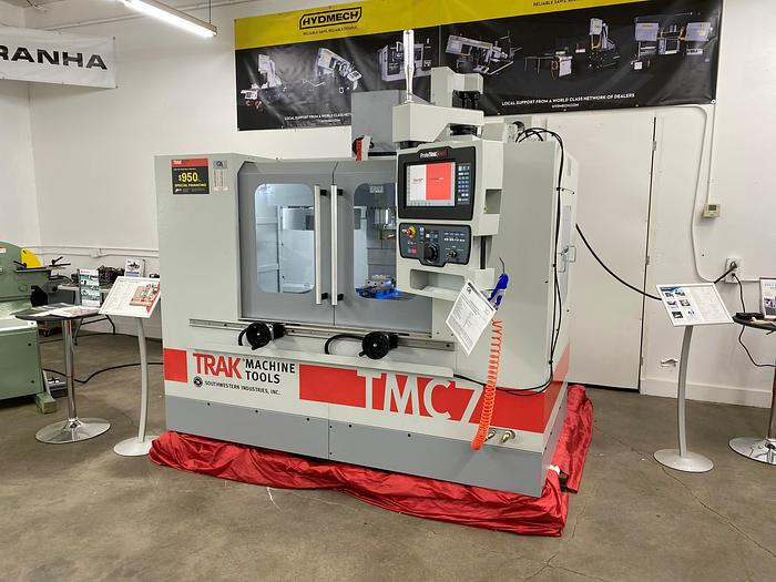 #10320: TRAK VMC7 Vertical Machining Center