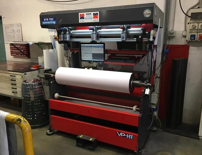 Used 2008 SYS TEC CONVERTING VP–HT SLEEVES 1300 m