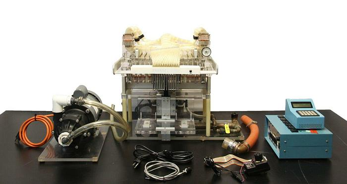 Used Brandel 96 Well Cell Harvester + Magnetic Drive Pump & Timer Controller (7075) R