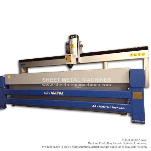 A&V WATERJET 10' x 6' Cutting Table AV1006