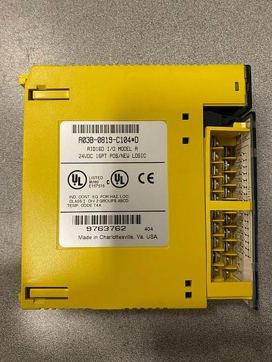 Used FANUC I/O MODULE A03B-0819-C104 #D