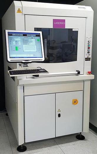 Used IPTE  FLEXMARKER 2009 Inline Laser PCB Barcode marking system
