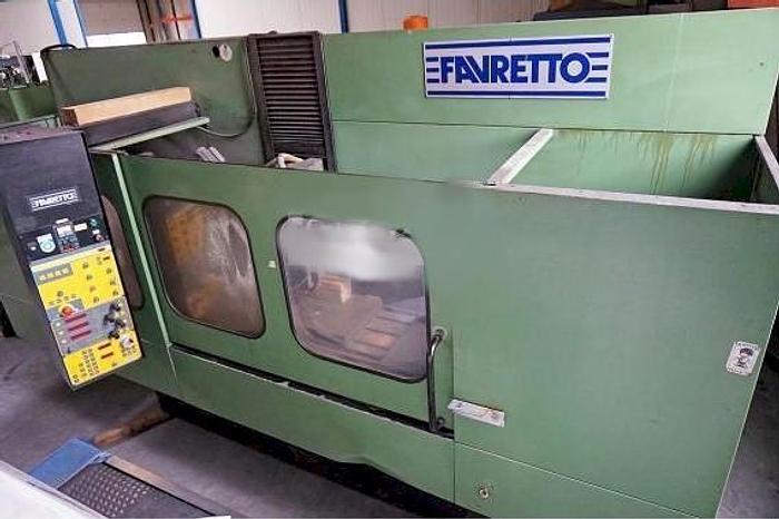 Usato Rettifica tangenziale  FAVRETTO MB 100 - 1200x600 mm, Auto-control