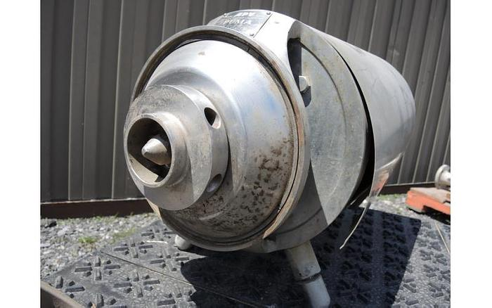 """USED CENTRIFUGAL PUMP, 2"""" X 2"""" INLET & OUTLET, STAINLESS STEEL, SANITARY"""