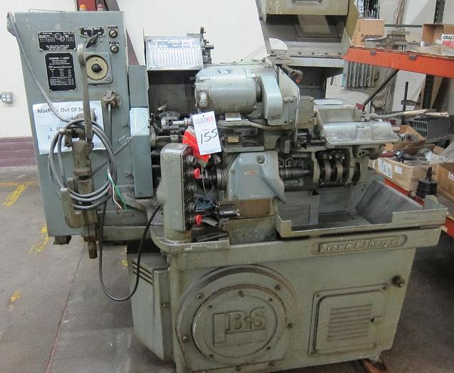 Brown & Sharpe #00 Automatic Screw Machine; Mfg. 1973