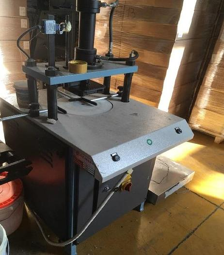 Used HYDRAULIC PRESS OZ-MAK (Turkey) mod. HP for normal handle or T-shirt handle