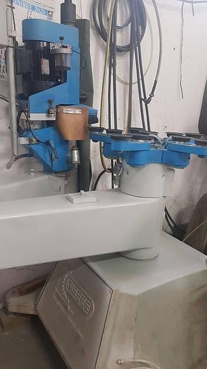 Usata Molatrice e Bisellatrice, INTERMAC GIEFFE modello Bilux 2 E - per vetri sagomati