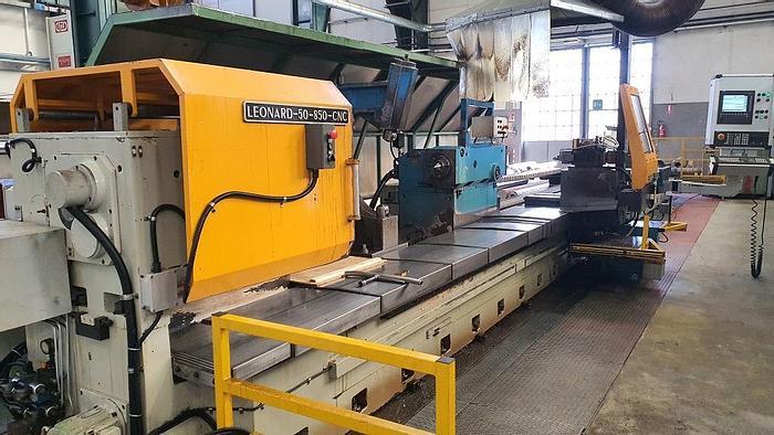 Installata Tornio Cnc SAFOP LEONARD 50/850 CNC