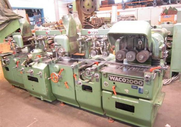Used Planing machine WACO HM 2000.6 spindles.