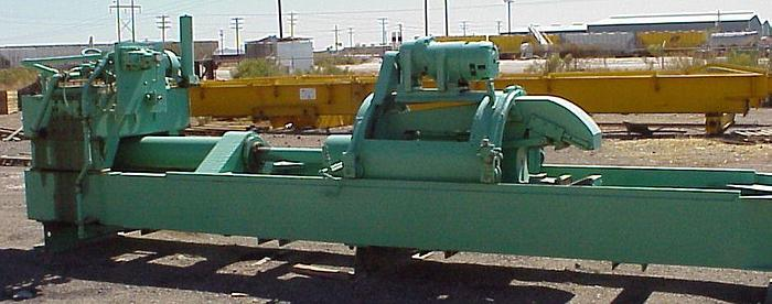 """100 Ton Loewy Extrusion Stretcher; 110' Max. Length; 72"""" Str.; Detwist; Oilgear"""