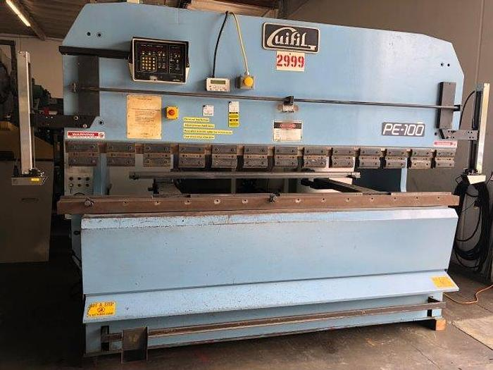 "Used 110 Ton, GUIFIL PE-30-100, 121"" BED LENGTH, AUTOMEC PROGRAMMABLE BACKGAUGE [5283]"