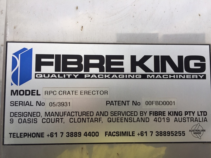FIBRE KING RPC Crate B172 Erector Packaging