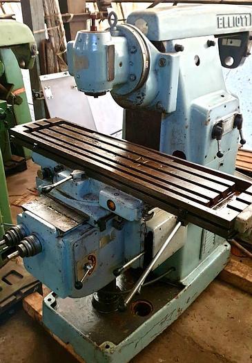 Used Elliot Rapidmil No.2 Universal Milling Machine