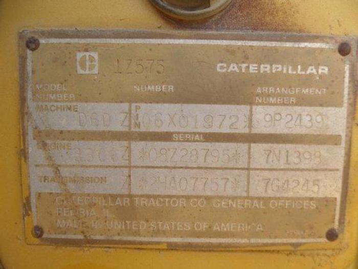 1985 CATERPILLAR D6D