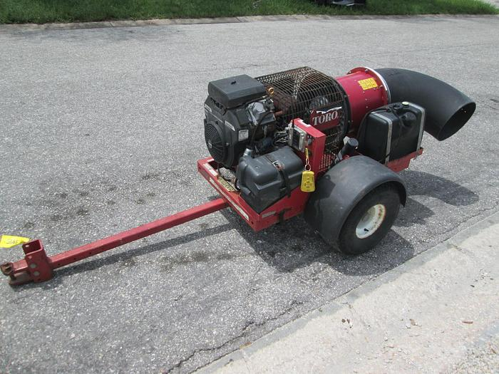 Used Toro Tow Behind Leaf and Debris Blower