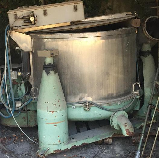 Used HYDROEXTRACTORS MASTER IMM 1250/S