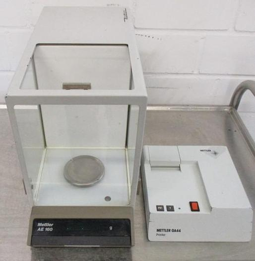 Used W 14710 D - Analytical Scale METTLER AE 160 & GA44