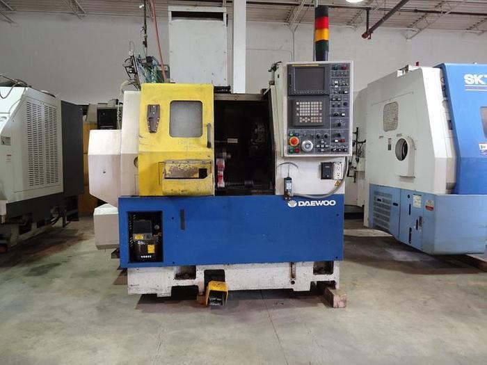 DAEWOO LYNX 200 2 AXIS CNC LATHE