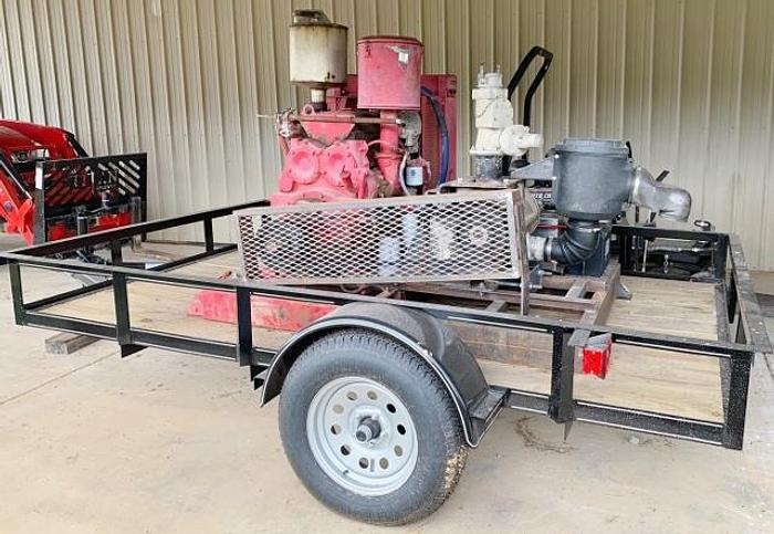 Used Portable 90HP Diesel Cement Transfer Blower