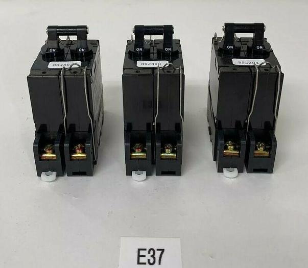 New Lot Of 3 Matsushita Circuit Protector CP-A BAB2025362 25A W/ CP-A2P Socket