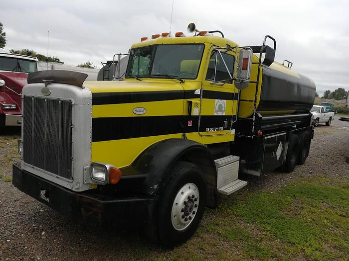 Used 1997 PETERBILT 348 FUEL TANKER 4,000 GALLONS