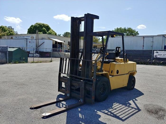 "Used Clark C500-Y100 9,175 Lb 139"" Fork Height Forklift - 16660"