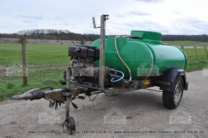 Used 2007 TRAILER ENGINEERING BOWSER WASHER