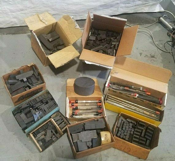 Used EDM Graphite Electrodes All Shapes and Sizes One Huge Lot!