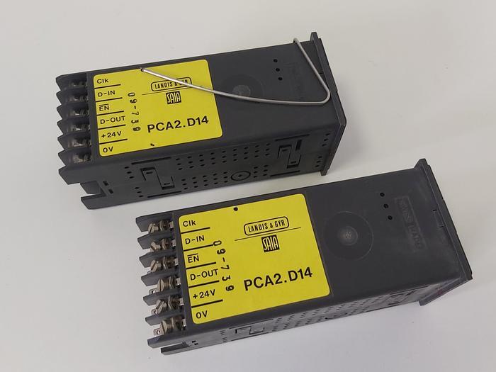 Gebraucht 1 Stück Display Modul, Anzeige Modul, PCA2.D14, Saia gebraucht