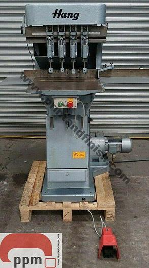 Used Hang Four Head Paper Drill