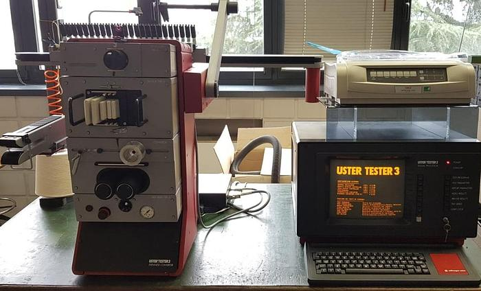 LABORATORY USTER TESTER 3