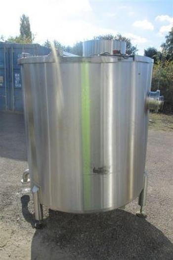 Used 1,250 Litre Stainless Steel Tank