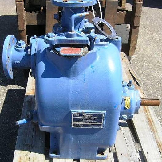 Used GORMAN-RUPP self-priming centrifugal pump, type T3A3-B FM