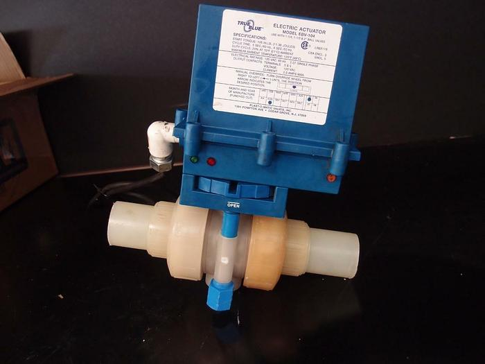 Used True Blue Plast-O-Matic Electric Actuator (3467)