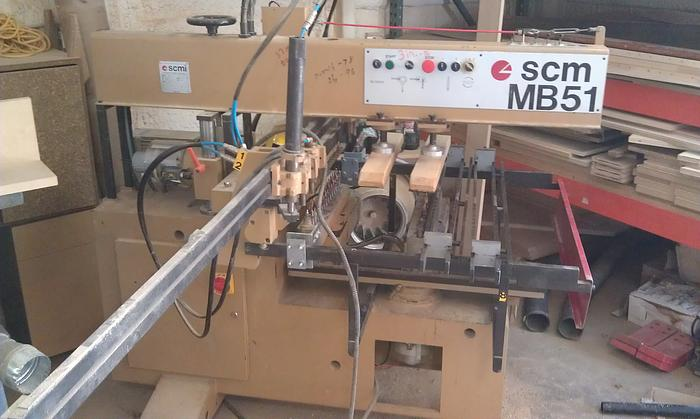 SCM Model MB51 Multispindle Boring Machine