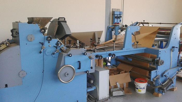 BIAGIONI D64M Flat satchel bag making machine of 1979