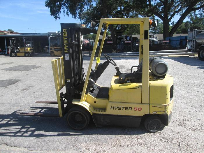 Used Hyster S50KM 5,000 LB Forklift
