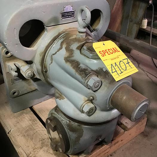 Used Kearney & Trecker Vertical Milling Head Mdl.12  #50 Taper 12