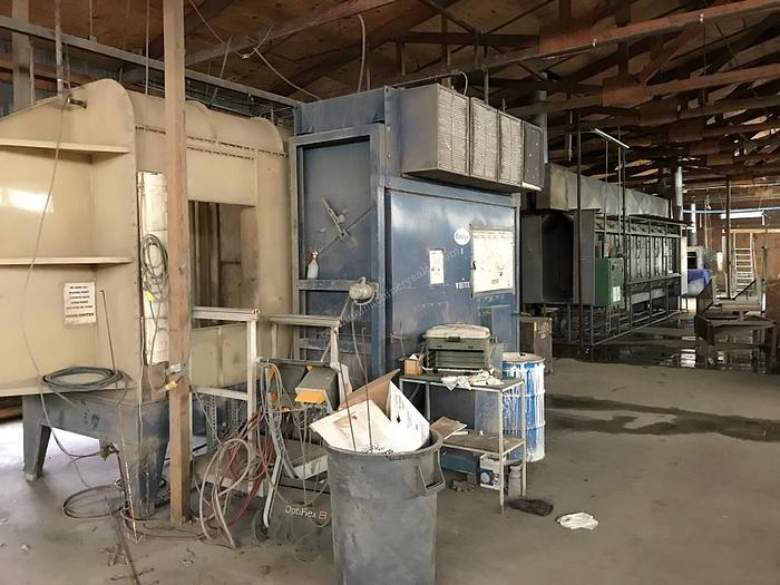 Complete Operation Powder Coating Room