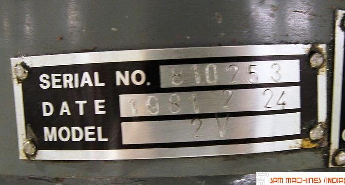 Hartford Turret Milling 2V- 1981