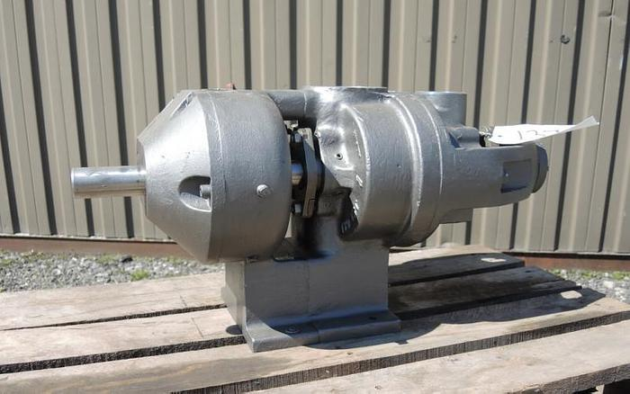 Used USED TUTHILL ROTARY LOBE PUMP, 3'' X 3'' INLET & OUTLET, STAINLESS STEEL