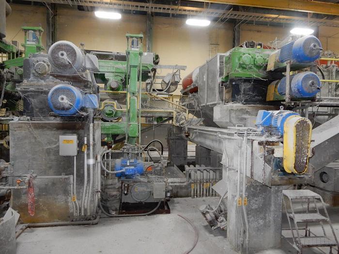 (PUA-102) - Wet Lap Machine - Andritz - 1200mm
