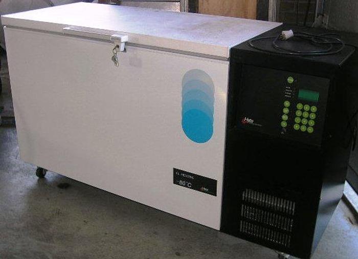 Used HETO Ultra freezer, type HETOFRIG CL 3008 E – minus 80 ° Celsius.