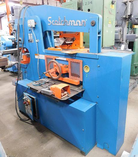 Used Scotchman 120 Ton Hydraulic Ironworker 12012