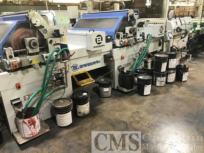 Used 2010 Barberan KB series Printing Line