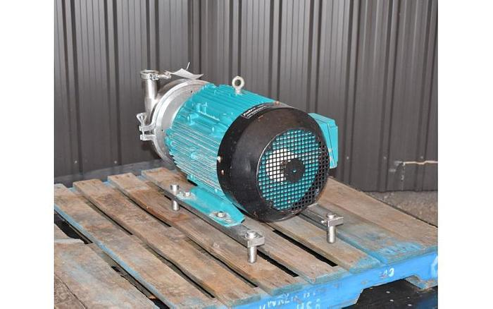 USED SPX CENTRIFUGAL PUMP, MODEL 2085, 2'' X 1.5'' INLET & OUTLET, STAINLESS STEEL