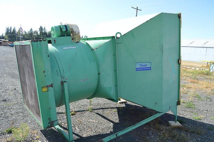 Used Clarkes 5HP axis filter fan, axis fan with filters.
