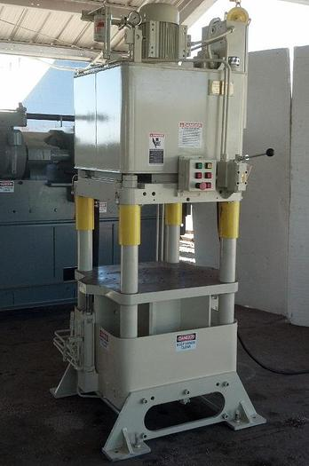 Used 120 Ton Fisher / Precision Model AJF-7 4-Post Hyd. Press; Up Acting Type; Mfg. 2004; S/N 18181-8;